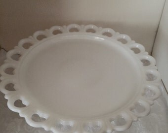 Vintage plate and stand