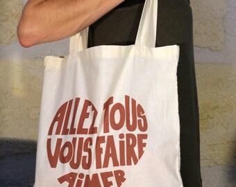 Tote bag off-white,