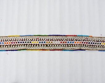 Tribal Kuchi Vintage strips Belt