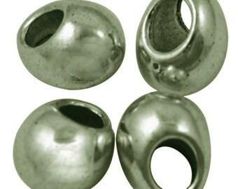 9x7mm Drop Beads x25