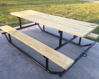 High quality steel/treated PICNIC TABLE!