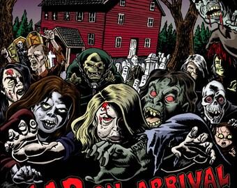 20th Annual Haunted Village Print