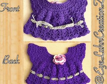 Crocheted Toddler Shirt