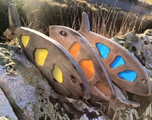 Ziggy's Creations - Orkney Beach Glass Fish