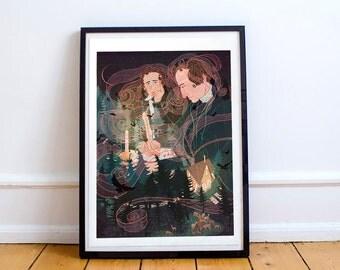 Grimm Brothers Portrait