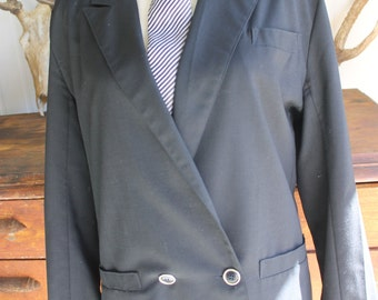 Vintage Black Suit Jacket
