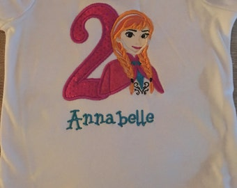 Frozen Anna Birthday shirt!