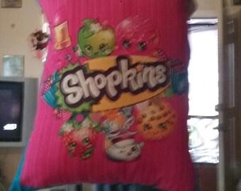 Shopkins slumber pillow