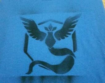 Pokemon Go team shirt