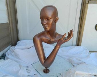 Art Deco Mannequinn head/hand