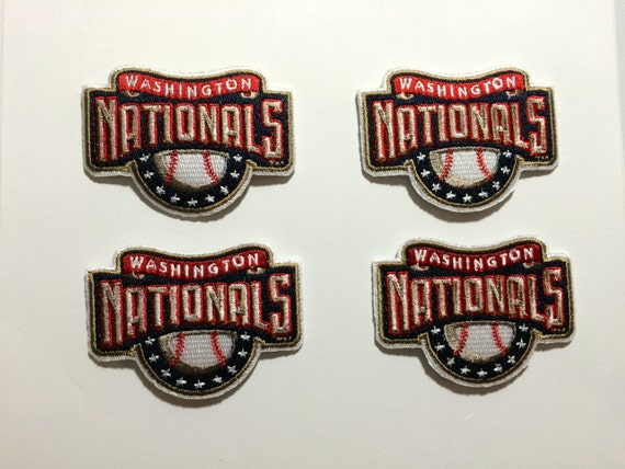 Washington nationals embroidered iron on or sew