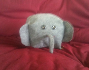 Adorable cubed gray elephant!!