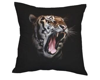Pillow Black Tiger