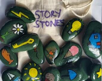 Handpainted Story Stones