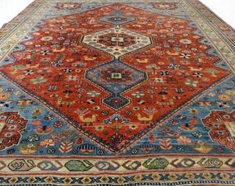 Vintage Persian Yalameh Rug