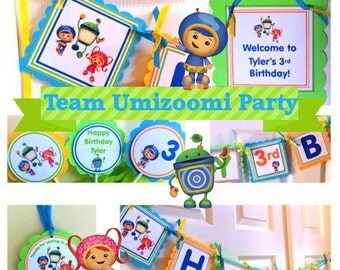 Team Umizoomi Party Package