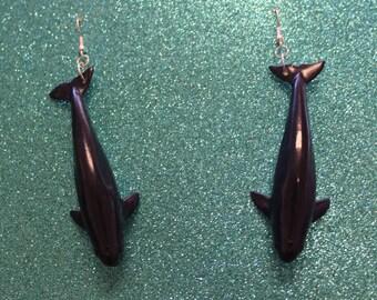 Finless Porpoise Earrings