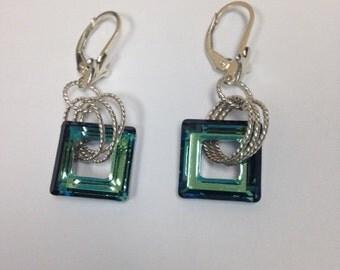 Bahama Blue Earrings