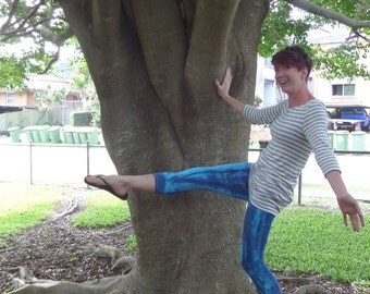 ladies 3/4 yoga leggings