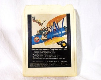 Pure Prairie League/Just Fly / 8 Track Tape 1978-Tested