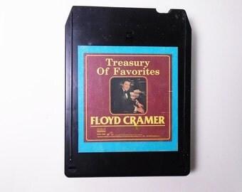 Floyd Cramer-Treasury of Favorites-1984- 8 Track Tape TESTED & SERVICED