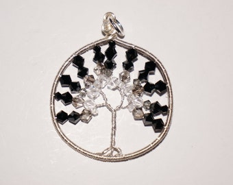 Swarovski Crystal Tree of Life Pendant