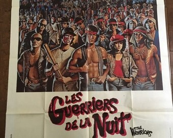 THE WARRIORS (1979) Original French Grande Movie Posters (47x63)