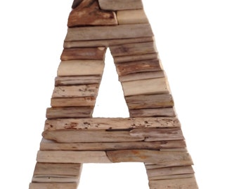 The Original Four Foot Driftwood Alphabet
