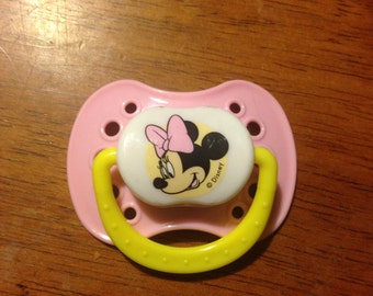 Reborn Baby Minnie Mouse Magnetic Pacifier
