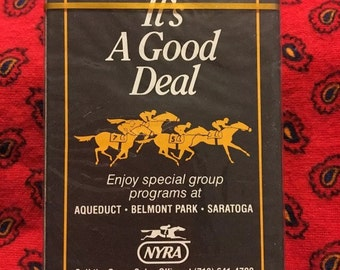 NYRA sealed deck of cards.
