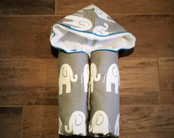 Elephant Stomp Hooded Towel