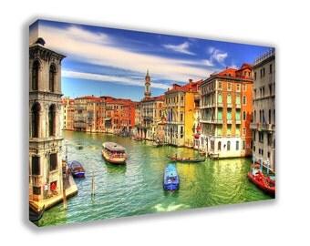 VENICE ITALY GRANDE Canal Canvas Wall Art
