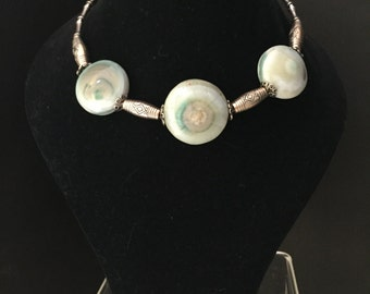 Handmade Agate stone Necklace with healing properties !