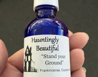 """Hauntingly Beautiful """"Stand Your Ground"""" Essential Oil Spray"""