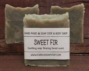 Sweet Fir Handmade Hot Process Soap - One Bar
