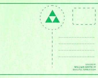 Legend of Zelda Postcards