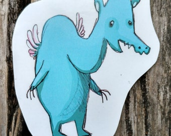 Creature Sticker 2