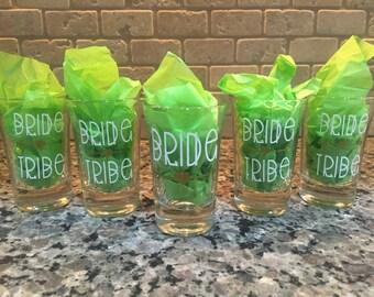 Wedding Party / Bachelorette / Bachelor Shot Glasses - Set of 5