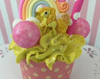 My Little Pony Party, Fake Cupcake, Candy Land