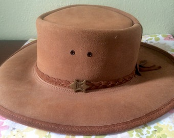 Bc Hats Australian Outback Stockman Suede Hat