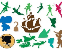 Peter Pan svg, Peter Pan Clipart, Peter Pan digital download, dxf files, svg files, svg files for silhouette, svg files for cricut, vector