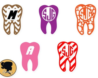 Dentist Tooth SVG Cut Files -Dentist Tooth Monogram Frames for Vinyl Cutters, Cameo or Cricut, Couple svg, vector, svg, dxf eps