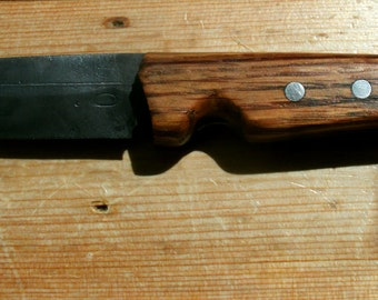 Bushcraft Knife With Finger Groove