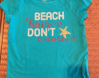 Custom Girls Beach Tshirt