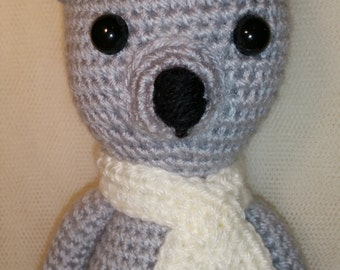 Sam - Handmade - Teddy Bear - Amigurumi - Crochet.