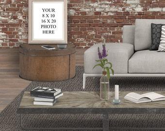 Frame mockup, photo mockup, art mockup, Etsy mockup, 8x10 mockup, 16x20 frame, photo frame, blank frame,  instagram, mock up, instagram
