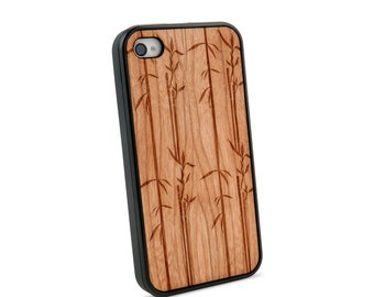 Bamboo Wooden iPhone 4/4S Case for iPhone 4/4S Case
