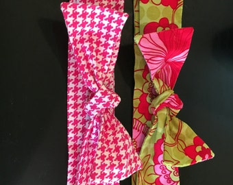 Knotted Head Wraps 2 pc Set