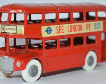 Budgie Toys No 236 Routemaster double decker London Bus 1960-1966