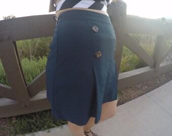 HIGH Waisted 70's Inspired Skirt